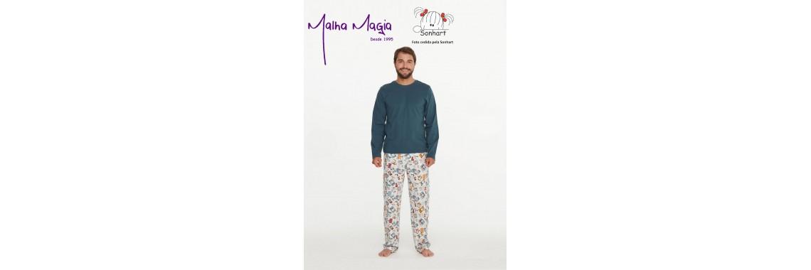 Malha Magia Sonhart Pijamas Abertura 009