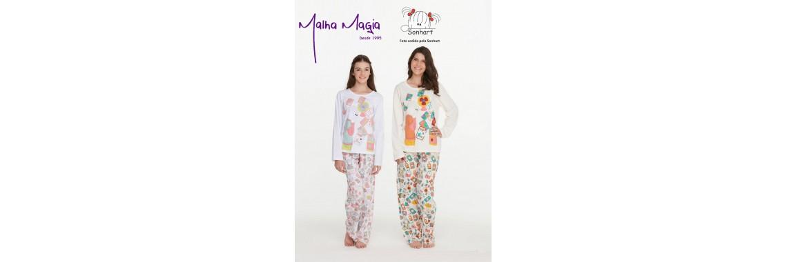 Malha Magia Sonhart Pijamas Abertura 004