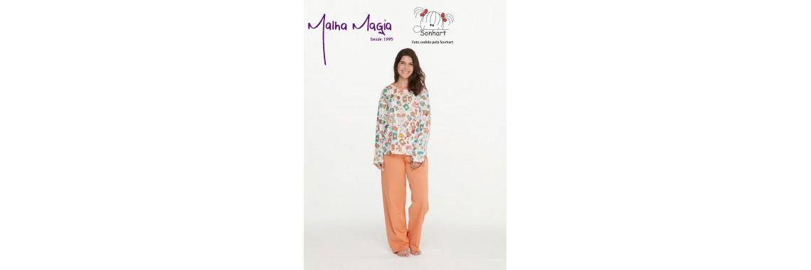 Malha Magia Sonhart Pijamas Abertura 005