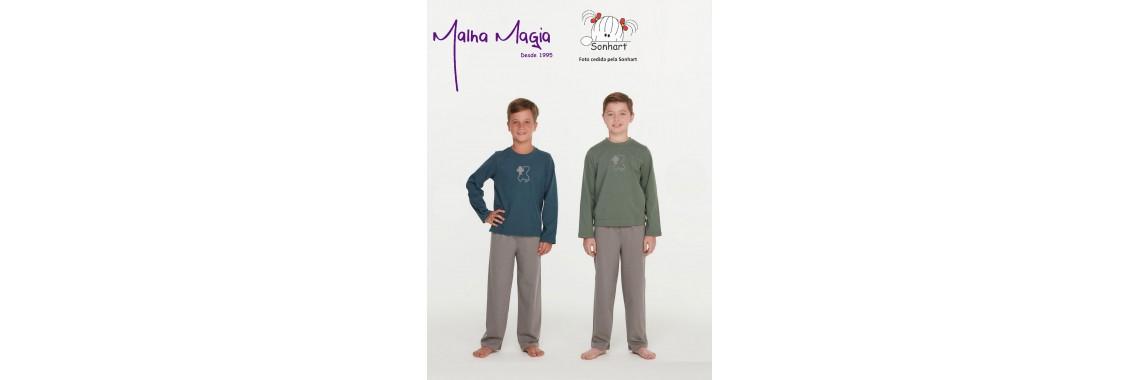 Malha Magia Sonhart Pijamas Abertura 003