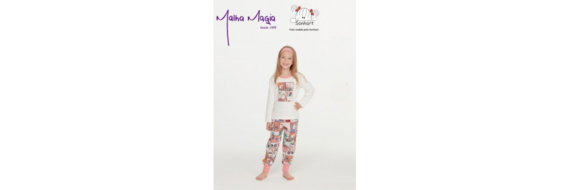 Malha Magia Sonhart Pijamas Abertura 001